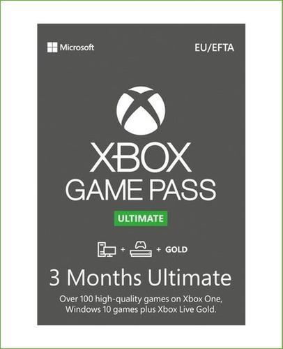 Xbox Game Pass Ultimate 3 Meses Trial Codigo Global