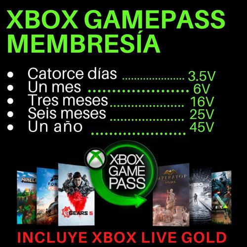 Xbox one game pass ultimate xbox live gold