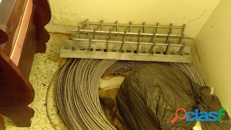 EN VENTA MATERIAL ELECTRICO PARA VESTIR 3 POSTES DE BAJA TENSION 1