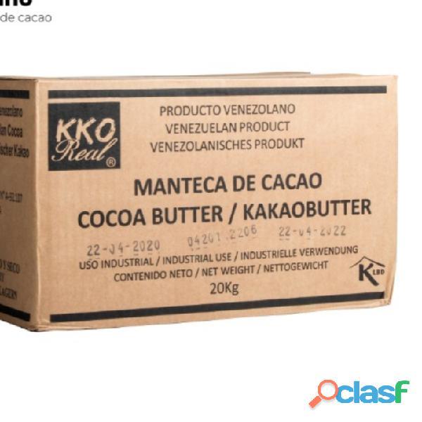 Cacao en polvo y manteca de cacao 1