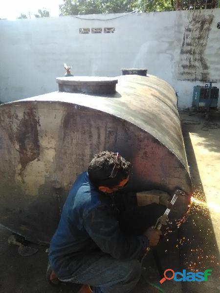 Fabricación de tanques cisternas para agua potable o pará lo que necesites