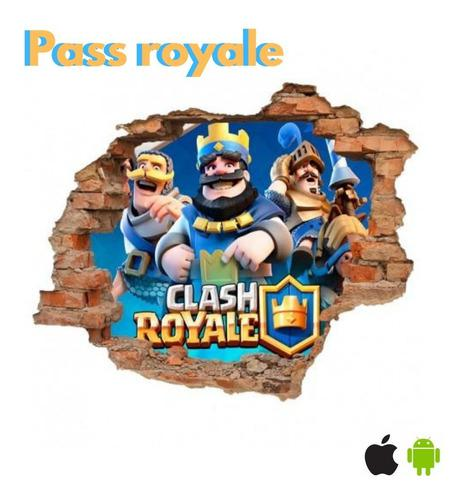 Pass Royale Clash Royale Android Y Apple