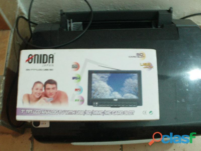 TV PANTALLA MARCA ONIDA JAPAN DE 7 PULGADAS
