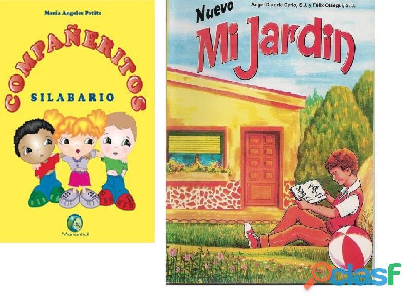 Lea por favor, todo __ digital, libros mi jardin, y ,libro mis compañeritos silabarios