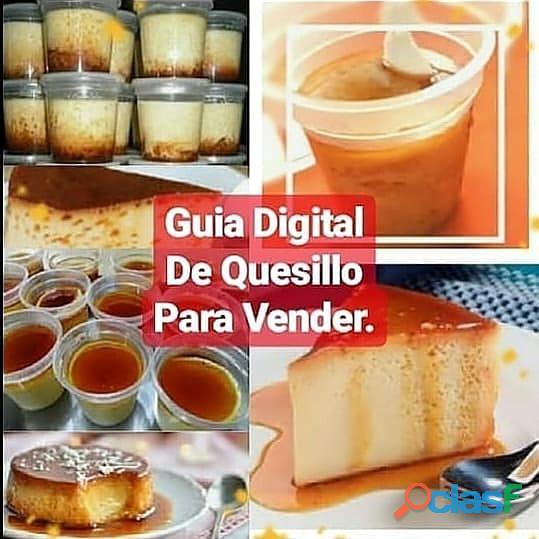 Recetas de diferentes tipos de tortas, Quesillos, Yogurt Y mass