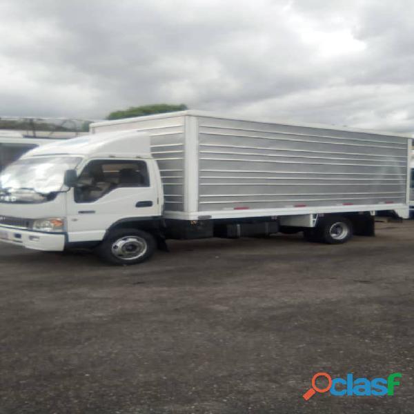 Flete camión Jac modelo hfc1061