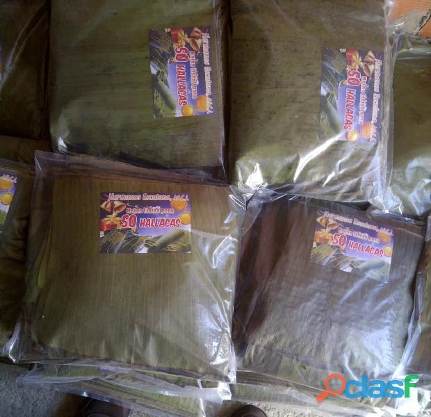 Paquetes de Hojas de Hallacas al Mayor 50 unidades 1