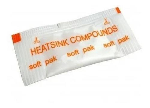 Pack 10 pasta térmica disipadora de calor para procesador