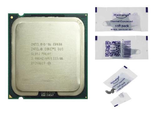Procesador intel core 2 duo e8400 pasta termica