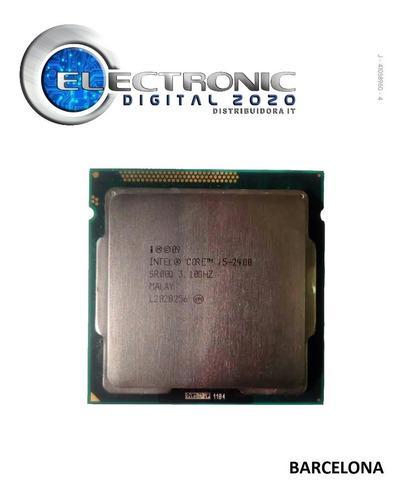 Procesador intel core i5 2400 3,10 ghz 1155 usado