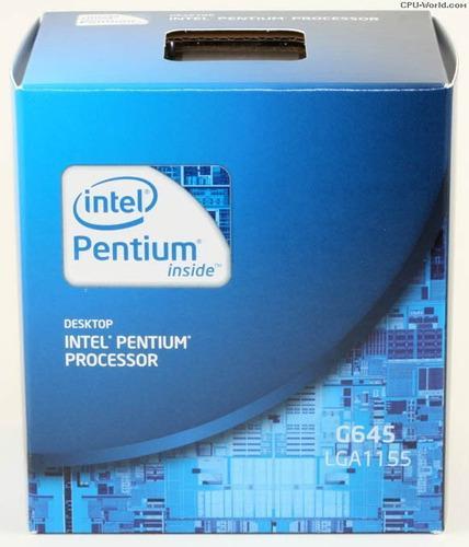 Procesador intel pentium g645 2.9ghz 3mb caché lga 1155 new