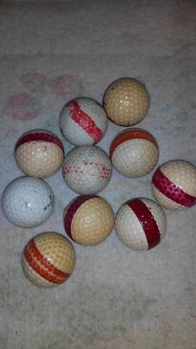 Pelotas de golf usadas