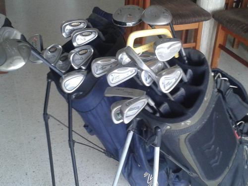 Set de palos de golf ping y golden bear excelente estado