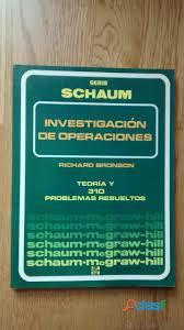 Se dictan clases de investigacion de operaciones 2