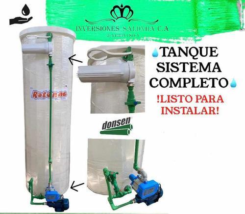 Tanque sistema completo con filtro / bomba presscontrol