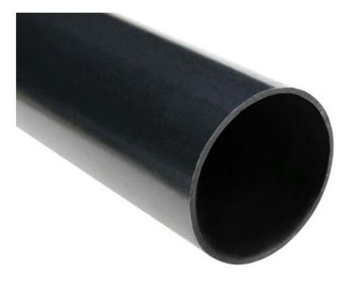Tubo redondo en hierro negro de 1/2, 3/4, 1, 1 1/2, 2