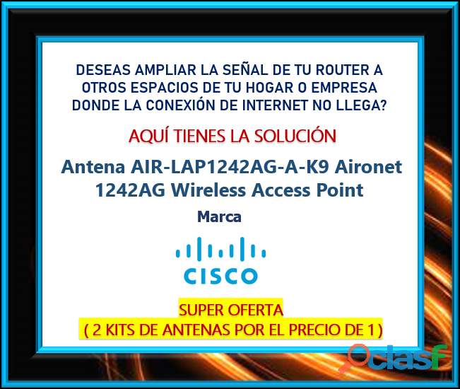 Antena CISCO AIR LAP1242AG A K9 Aironet 1242AG Wireless Access Point