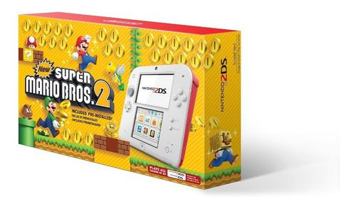 Paquete nintendo 2ds new super mario bros.2