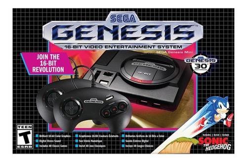 Sega genesis mini consola original 42 juegos 2 controles new