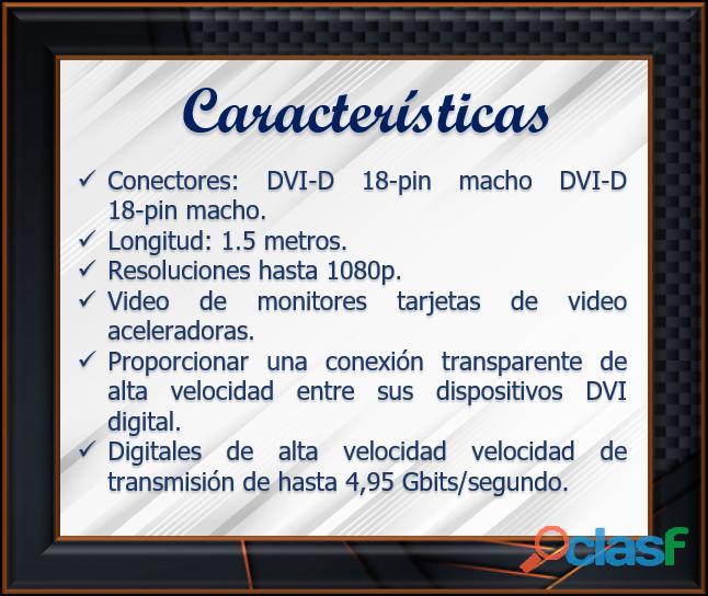 CABLE DE VIDEO PARA COMPUTADORAS VDI (Interfaz de video digital) 1