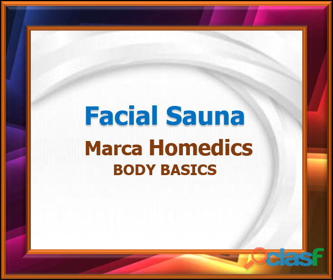 Facial Sauna Marca Homedics BODY BASICS