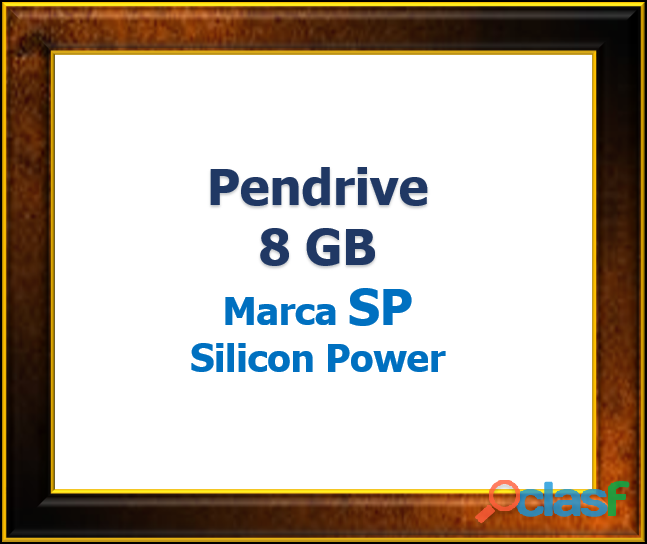 Pendrive 8 GB Marca SP Silicon Power