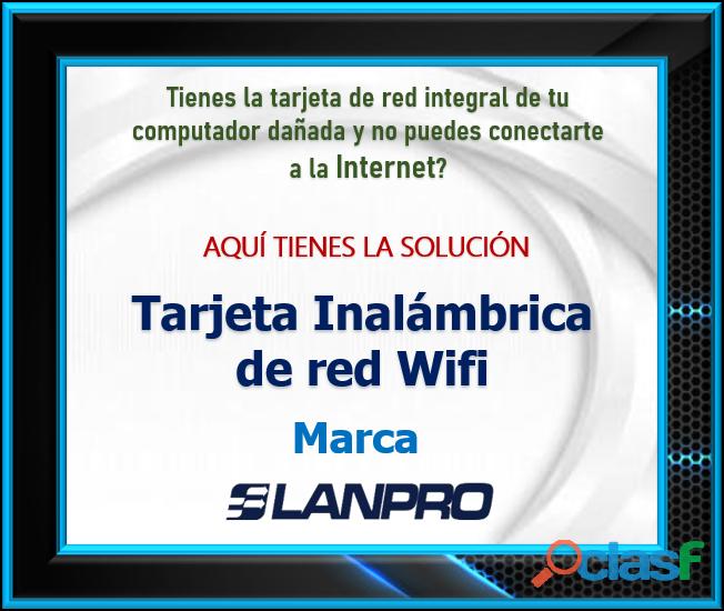 Tarjeta Inalámbrica de red Wifi Marca LANPRO