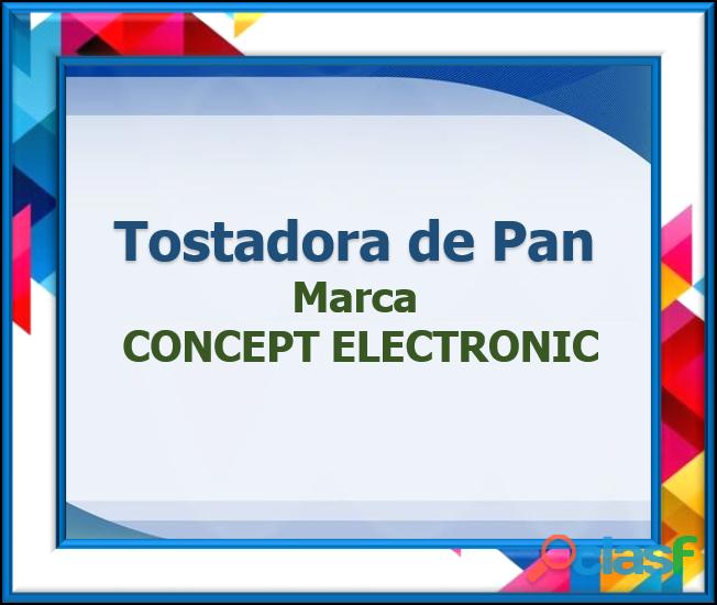 Tostadora de Pan Marca CONCEPT ELECTRONIC