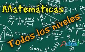 Se dictan clases de matematicas 6
