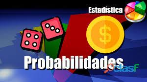 Se dictan clases de probabilidades y estadistica 4