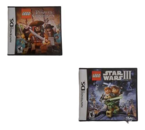 Juegos para nintendo ds de lego originales usados