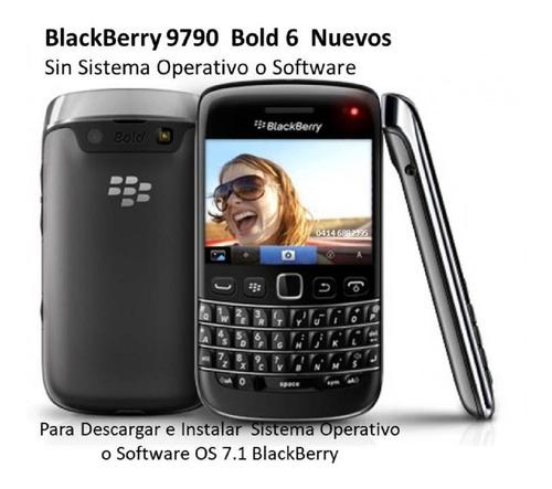 Blackberry 9790 bold 6 new touchscreen(sin sistema software)