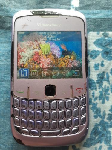 Telefono blackberry curve 8530, sin cargador, liberado