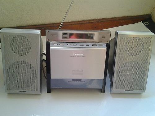 Equipo De Sonido Panasonic Cd, Mp3, Radio Fm Control Remoto
