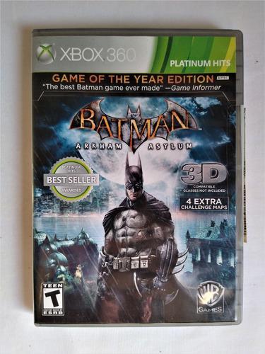 Juegos batman edicion especial xbox 360