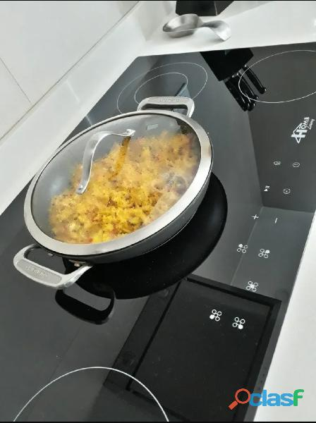 Tope de cocina Eléctrica HOME LUXURY 5 HORNILLAS 2