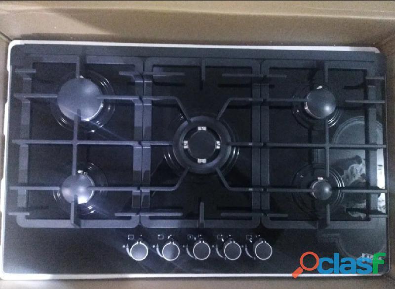 Tope de Cocina Gas 5 Hornillas Home Luxury