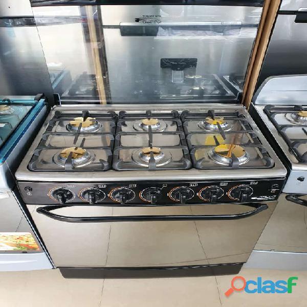 Cocina Empotrable 6 HORNILLAS GAS 1