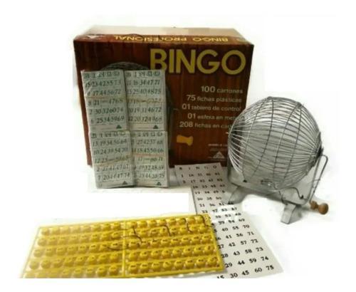 Bingo profesional 100 cartones
