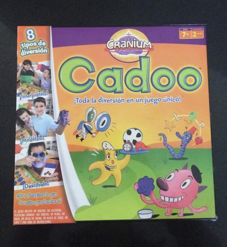 Juegos de mesa cadoo / genios divertidos
