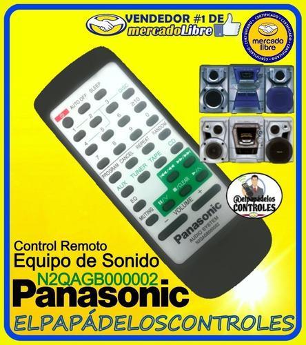 Control panasonic original equipos de sonidos // nuevo.!!!