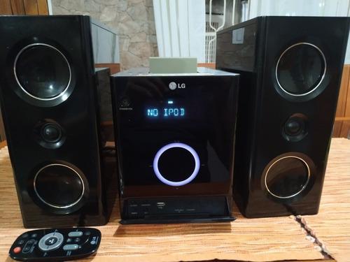 Equipo de sonido lg fa163-aop incluyo adaptador bluetooth