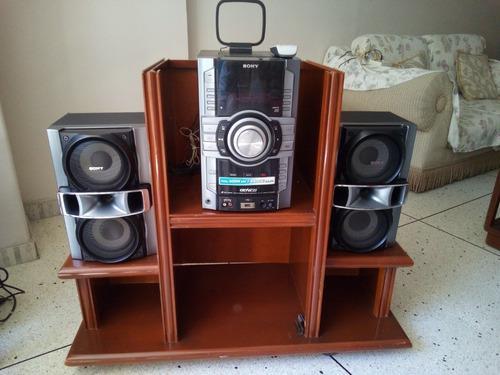 Equipo de sonido sony genezi mhc-gt222