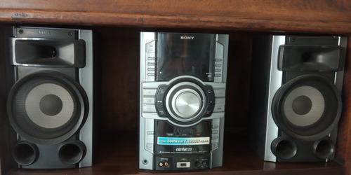 Equipo de sonido sony usado