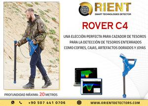 Escáner de suelo 3d rover c4 para buscadores