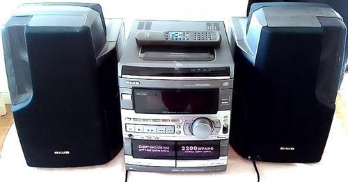 Multi equipo de sonido aiwa (original)