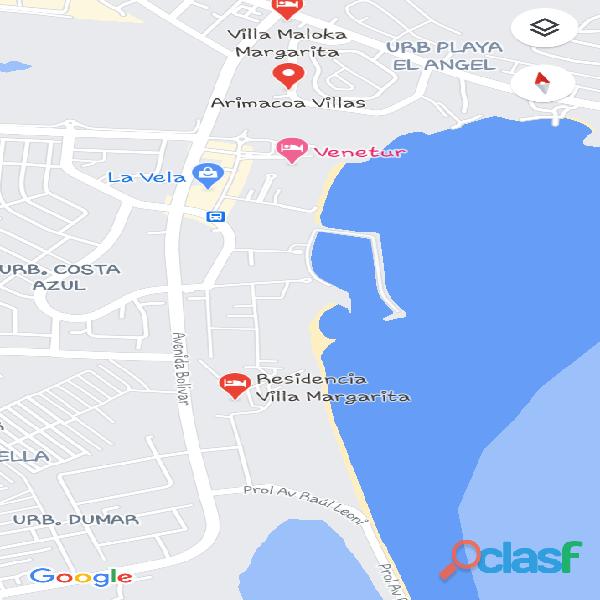 Vendo Apart de lujo, Zona Privilegiada en Margarita, Avn Bolivar,Cerca a Playa Caracola, Negociable