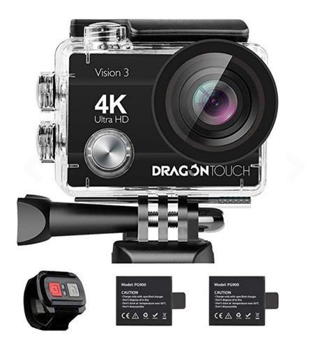 Camara de acción dragon touch 4k 16 mp vision 3