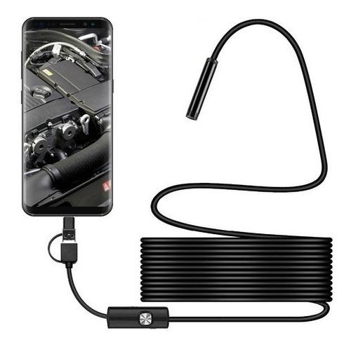 Camara endoscopio usb micro usb type c android y pc