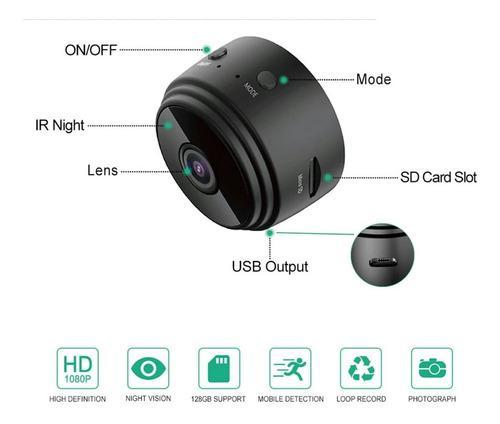 Càmara mini espìa full hd 1080p c/micro sd